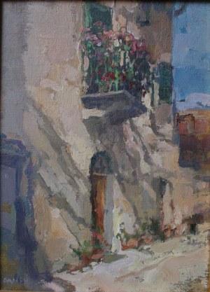 Józef Panfil, Motyw z Castellina in Chianti (2001)