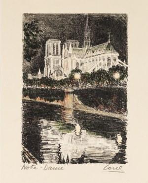 Marvin Cone (1891 - 1965), Notre Dame de Paris, 2015
