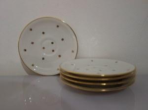Zestaw porcelanowych talerzyków z Limoges
