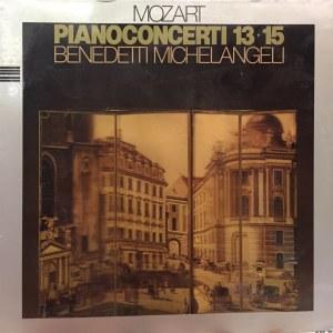 Wolfgang Amadeusz Mozart, Koncerty fortepianowe nr 13 i 15, Arturo Benedetti Michelangeli, 1981
