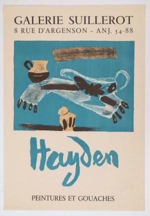 PLAKAT, HAYDEN, Galerie Suillerot, Paryż, 1965