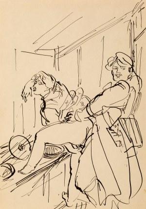Antoni Uniechowski (przypisywany), (1903-1976), Erotyk. Historia jednej dziewczyny