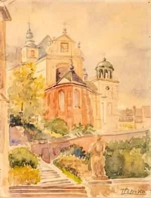 I. Lipska, Widok kościoła