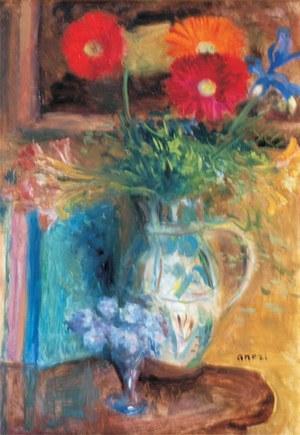 Aneri Irena Weissowa (1888-1981), Martwa natura z kwiatami, ok. 1970
