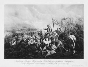 Juliusz Kossak (1824-1899), Andrzej Fredro Wojewoda Podolski po pobiciu Tatarów nad Bugiem oswobadza zabranych w niewolę