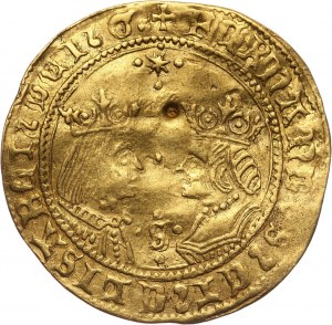 Hiszpania, Ferdynand V i Izabela I, 2 Excelentes bez daty (1476-1516) S, Sewilla