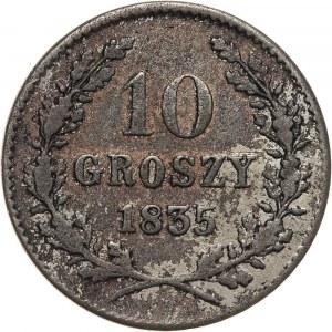 Wolne Miasto Kraków, 10 groszy 1835, Wiedeń