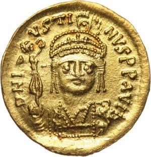 Bizancjum, Justyn II 565-578, solidus, Konstantynopol