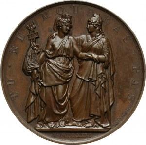 XIX wiek, medal z 1831 roku, L' Heroique Pologne (Bohaterskiej Polsce)