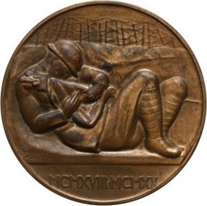 II RP, medal z 1920 roku, Poległym Cześć 1918-1920, Warszawa