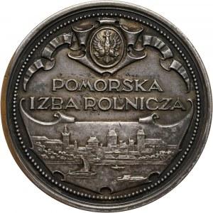 II RP, medal nagrodowy z 1926 roku, Pomorska Izba Rolnicza