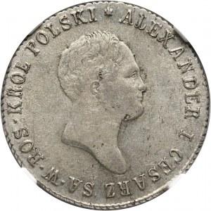 Królestwo Kongresowe, Aleksander I, 2 złote 1819 IB, Warszawa