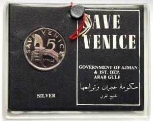 Ajman, 5 riali bez daty (1970), Save Venice
