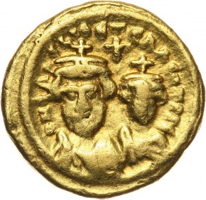 Bizancjum, Herakliusz 610-641, solidus, Kartagina