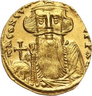 Bizancjum, Konstans II 641-668, solidus, Konstantynopol