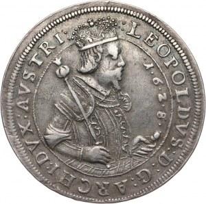 Austria, arcyksiążę Leopold V, talar 1628, Hall