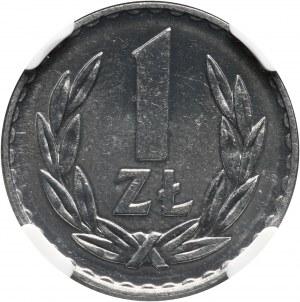 PRL, 1 złoty 1973, Prooflike