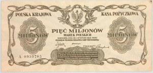 II RP, 5.000.000 marek polskich 20.11.1923, seria A