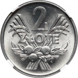 PRL, 2 złote 1959, Jagody