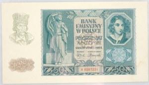Generalna Gubernia, 50 złotych 1.03.1940, seria A