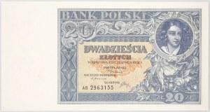 II RP, 20 złotych 20.06.1931, seria AB