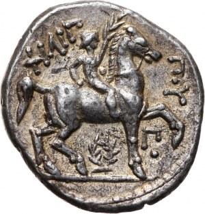 Grecja, Macedonia, Filip II 359-336 p.n.e., tetradrachma 315-294 p.n.e., Amfipolis
