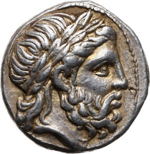 Greece, Macedonia, Philip II 359-336 BC, Tetradrachm 315-294 BC, Amphipolis
