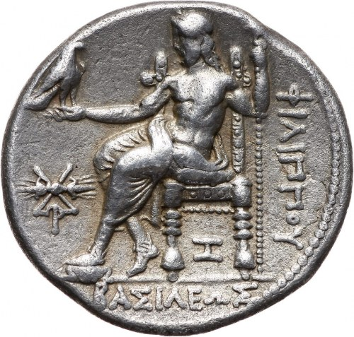 Grecja, Macedonia, Filip III 323-317 p.n.e., tetradrachma 323-316 p.n.e., Aradus