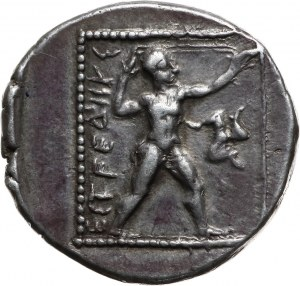 Grecja, Pamfilia, Aspendos, stater 385-370 p.n.e., Zapaśnicy