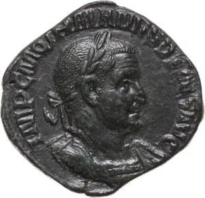 Cesarstwo Rzymskie, Trajan Decjusz 249-251, sesterc, Rzym