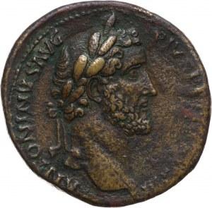 Cesarstwo Rzymskie, Antoninus Pius 138-161, sesterc, Rzym