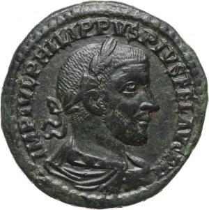 Cesarstwo Rzymskie, Mezja Górna, Filip I Arab 244-249, sesterc, Viminacium