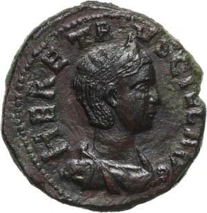 Cesarstwo Rzymskie, Mezja Górna, Herenia Etruscilla 249-251 (żona Trajana Decjusza), brąz, Viminacium
