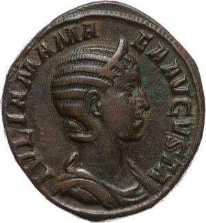 Cesarstwo Rzymskie, Julia Mamea (matka Aleksandra Sewera 222-235), sesterc, Rzym