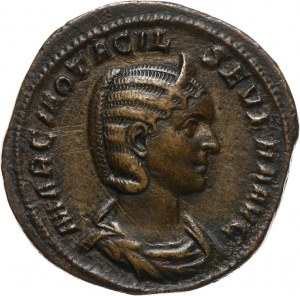 Cesarstwo Rzymskie, Otacilia Severa 244-249 (żona Filipa I), sesterc, Rzym