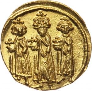 Bizancjum, Herakliusz 610-641, solidus, Konstantynopol