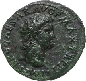 Cesarstwo Rzymskie, Neron 54-68, as, Lugdunum