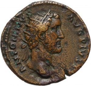 Cesarstwo Rzymskie, Antoninus Pius 138-161, dupondius, Rzym