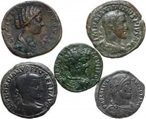 Cesarstwo Rzymskie, zestaw 5 monet