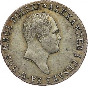Królestwo Kongresowe, Aleksander I, 1 złoty 1818 IB, Warszawa