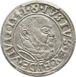 Prusy Książęce, Albert Hohenzollern, grosz 1541, Królewiec