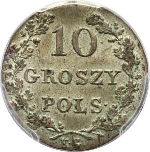 Powstanie Listopadowe, 10 groszy 1831 KG, Warszawa