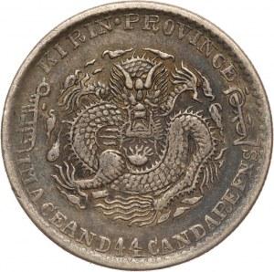 Chiny, Kirin, 20 centów 1901