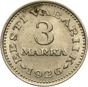 Estonia, 3 marki 1926