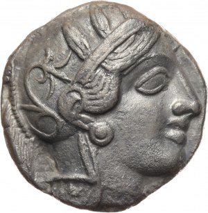 Greece, Attica, Tetradrachm, after 449 BC, Athens