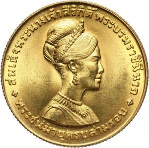 Tajlandia, Rama IX, 600 Baht 1968, królowa Sirikit