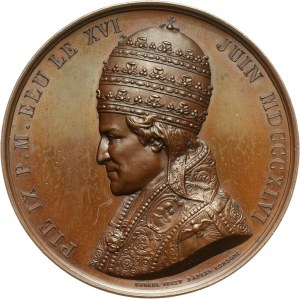 Watykan, Pius IX, medal z 1847 roku