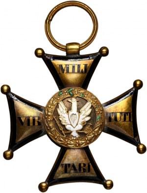 Krzyż Złoty Orderu Virtuti Militari IV klasy 1831, Warszawa
