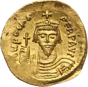 Bizancjum, Fokas 602-610, solidus, Konstantynopol