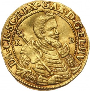 Węgry, Siedmiogród, Gabriel Bethlen, dukat 1620 KB, Kremnica